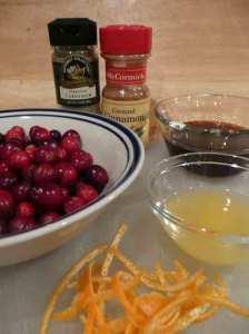 Make cranberry sauce