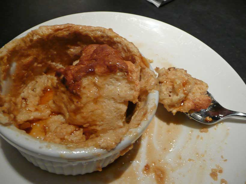 """... Review: """"Gourmet"""" and Pumpkin Souffles 