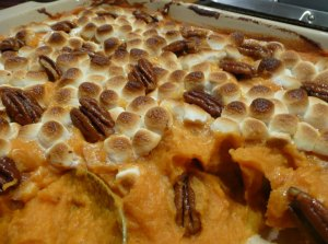 Sweet Potatoes and Marshmallows