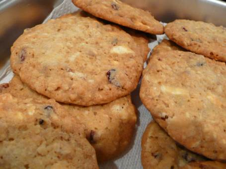 cookies cranberry pistachio and white chocolate chip oatmeal cookies ...