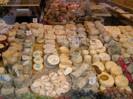 Cheeses in France